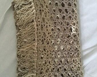 Super soft lace scarf