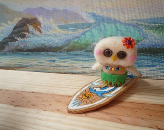 owlet on vacation