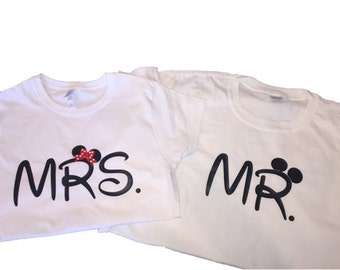 Mr. & Mrs. Disney T-Shirt