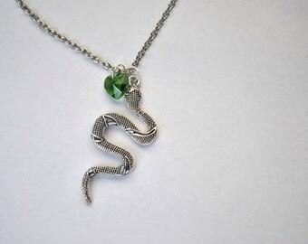 Slytherin House Harry Potter Necklace