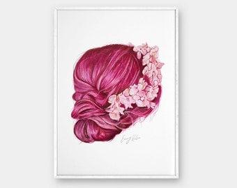 Art print, Pencil drawing, Printable wall art, Fine art prints, Modern Wall Art, Prints illustrations, Printable artwork, Wall decor,