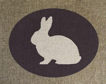 Woodland Bunny Print