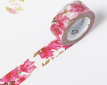 Lily-like Floral Washi Tape