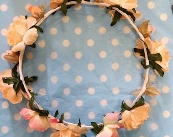 Summer Nights flower crown