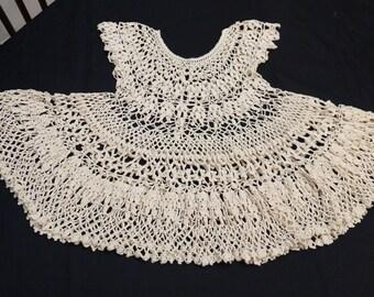 Ecru Lace Dress