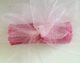 Tulle Bow and Headband