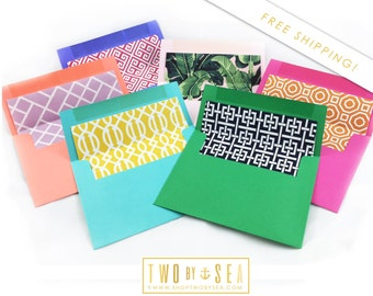 A2 Envelopes (Fits 4.25 x 5.5 Note Cards) ***Set of 12*** FREE SHIPPING!!