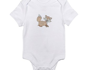 "Baby Onesies ""Little Foxes"""
