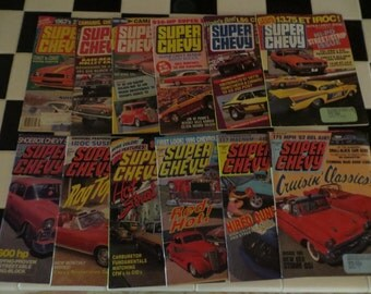 1989 Super Chevy Magazine, January - December, 12 issues