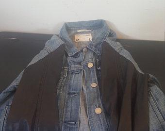 jean leather jacket