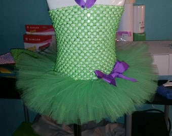 Lime Green Tutu Dress