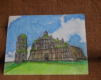 Paoay Church  (15 year old artist)