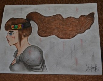 The Knightess  (15 year old artist)