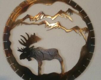 Big Alaska Moose