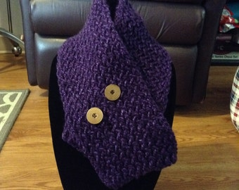 Knitted Cowl Scarf