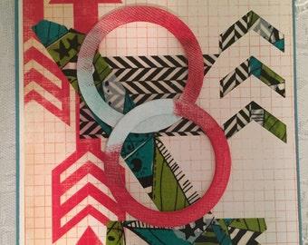Teen geometric card