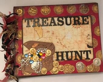 Treasure Hunt 8 X 10 Chipboard Album