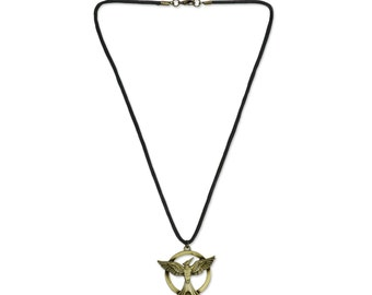 "Hunger Games ""Mockingjay"" Necklace"