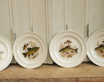 FRENCH FISH PLATES