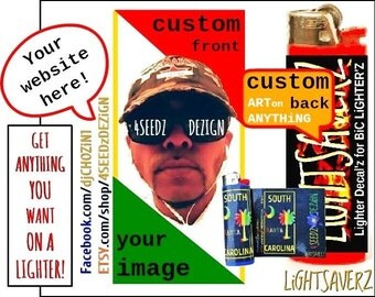 LiGHTSAVERZ 50 Lighter decals for 40.00!!! Lighter Decals for BiC Lighters! Custom and Wholesale