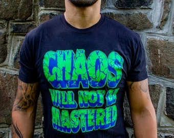 Chaos will not be mastered - Cracked type