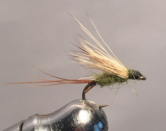 Fly fishing- (3) pack BWO Blue wing olive dry fly
