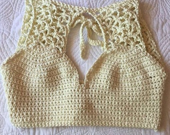 Emerging Ivory Crop top