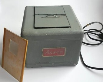 Vintage Ansco LightBox Dark Room for Film Photography , Ansco light box, Ansco Contact Printer