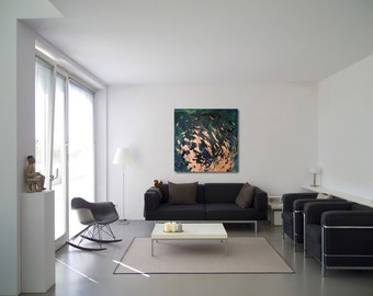 Swarm, abstract art, modern painting, painting