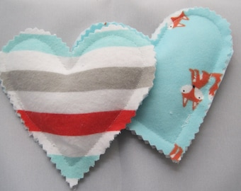 Fox/Stripe Let Down Loveys
