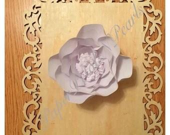 Medium White Rose (10 inches)