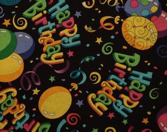 Happy Birthday Balloon Bandana