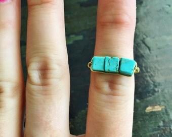 Turquoise Handmade Ring