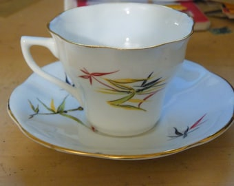 Crownford Bone China Saucer & Cup
