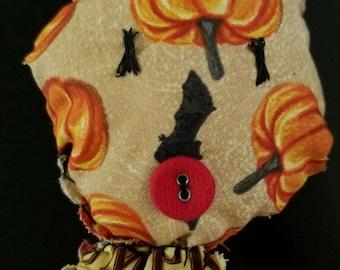 Halloween folk art doll