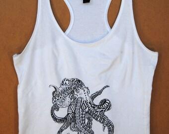 Longshorewoman Octopus in mandala zentangle