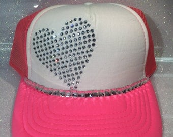Hot Pink Love Hat