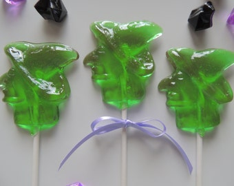 Witch Lollipops Wicked Creepy Scary Halloween Party Birthday 8 Party Favors Candy