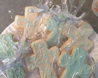 Baptism/Communion Hand Decorated Cookies