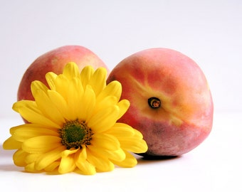 Peaches and Flower