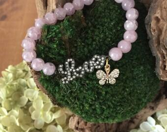 Love ( beaded bracelet)