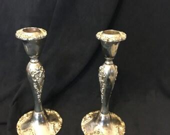 Godinger Silver Candlesticks