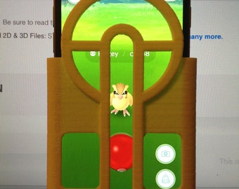 Pokemon Go Pokeball Aimer iPhone design