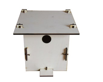 Nesting boxes for tits