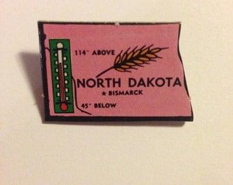 North Dakota Pin