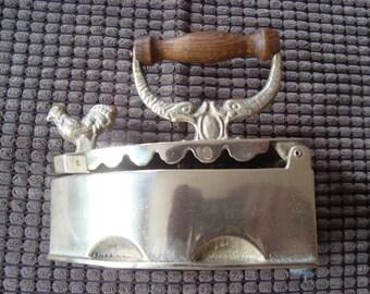 "Vintage ""French brass ""Sad Iron"""