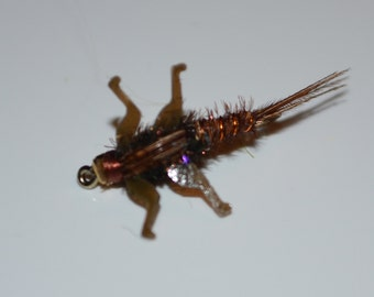 3 Pheasant tail nymphs with Lively Legz.