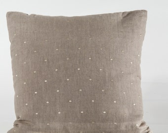 Designer pillow cover, Decorative pillow, Sanderson pillow cover, embroidered pillow cover