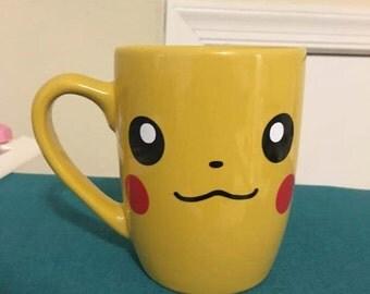 pikachu pokemon coffee cup