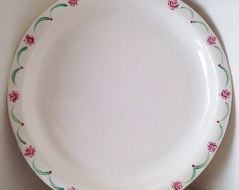 Large Platter with floral edge